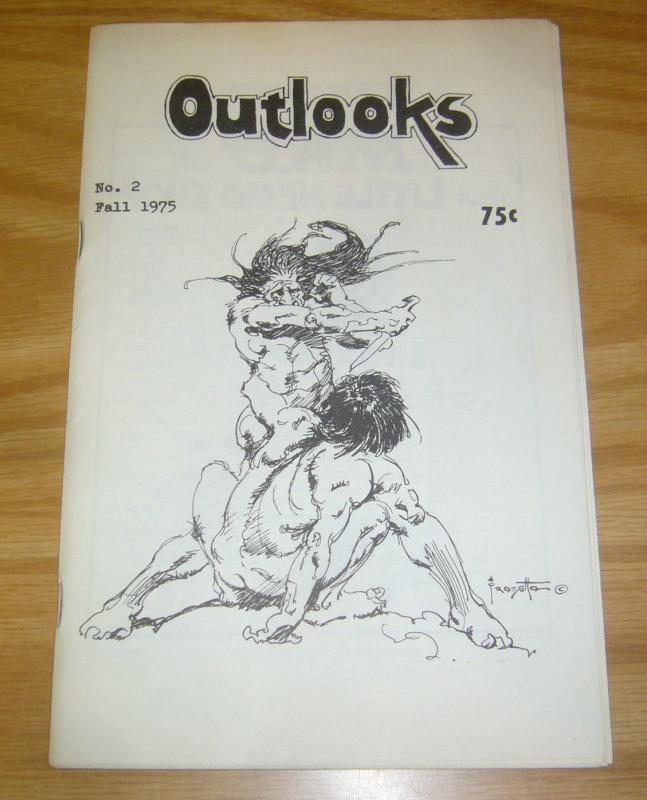 Outlooks #2 FN frazetta - walter simonson - aragones - neal adams - kaluta 1975