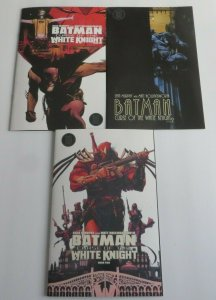 Batman Curse Of The White Knight #1 & 2 (Lot of 3) Regular And Variant Covers NM