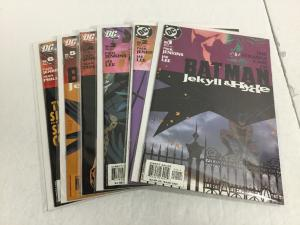 Batman Jekyll And Hyde 1-6 Lot Set Run Nm Near Mint DC Comics IK