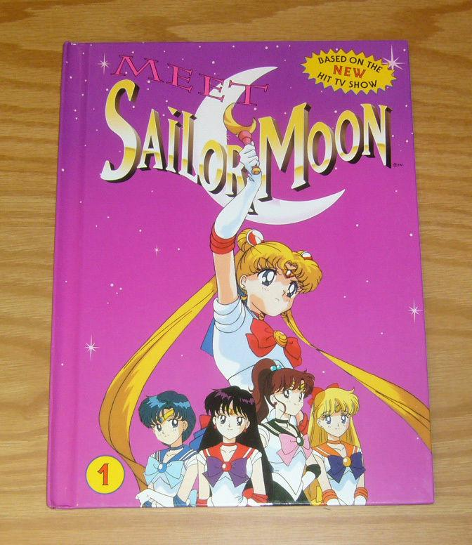 Meet Sailor Moon HC 1 VF/NM hardcover - based on the tv show cartoon - 2nd print