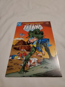 New Teen Titans 11 Near Mint- Cover by Jerry Bingham