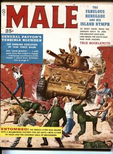 Male 12/1959-mort kunstler cvr-nazi prison-pulp fiction-bad mags