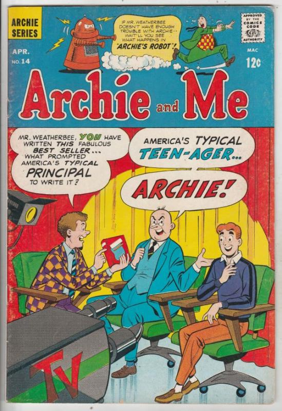 Archie and Me #14 (Apr-67) FN/VF Mid-High-Grade Archie