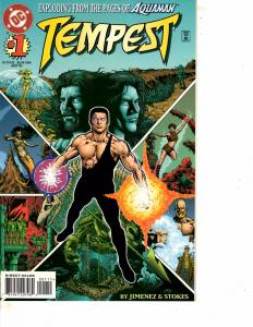 Lot Of 2 DC Comic Tempest #1 and Justice League Quarterly #17  Batman ON13
