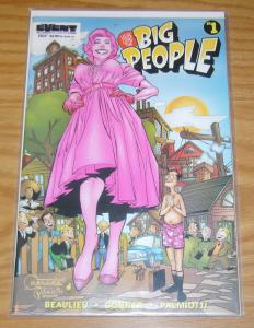 Here Come the Big People #1 VF/NM dynamice forces variant w/ COA (59 of 5,000)