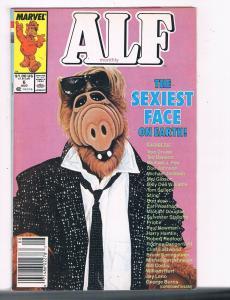 Alf Monthly #6 VG Marvel Comic Book DE5