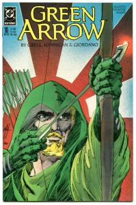 GREEN ARROW #10, NM, Mike Grell, Giordano, Seattle, 1988, more GA in store