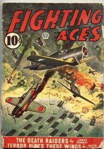 FIGHTING ACES-MAY 1944-DAVID GOODIS-CANADIAN VARIANT-WW II PULP THRILLS-POPULAR
