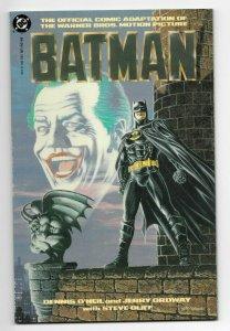 Batman Movie Adaption Prestige Format Comic DC Michael Keaton High Grade NM+ 9.6