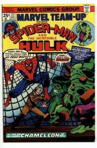 Marvel Team-Up #27 1974-SPIDER-MAN / HULK NM-