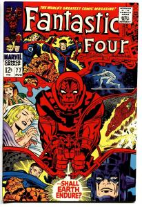 FANTASTIC FOUR #77 comic book 1968-MARVEL COMICS-JACK KIRBY