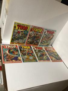 The Mighty Thor 194 105 196 197 198 199 200  8.0 Vf Average A22
