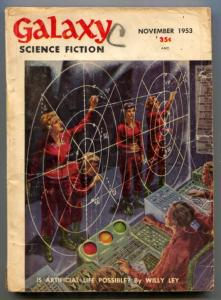 Galaxy Science Fiction November 1953- Asimov- Willy Ley