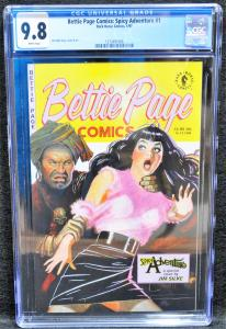 Bettie Page Comics: Spicy Adventure #1 (Jan 1997, Dark Horse)
