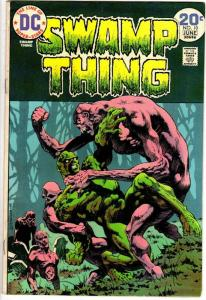 SWAMP THING 10 VG-F  June 1974  LAST WRIGHTSON ISSUES