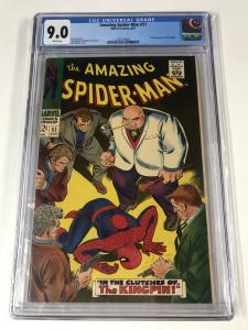 Amazing Spider-Man #51 CGC 9.0