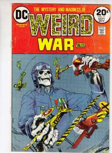 Weird War Tales #17 (Sep-73) FN- Mid-Grade