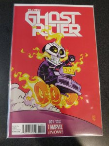 GHOST RIDER #1 SKOTTIE YOUNG VARIANT NM