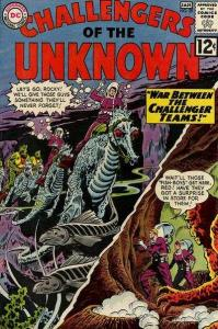 Challengers of the Unknown (1958 series) #29, VG (Stock photo)