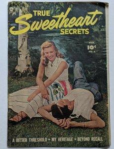 True Sweetheart Secrets #6 (Mar 1952, Fawcett) Good 2.0