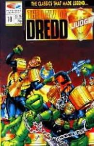 Law of Dredd, The #10 VF/NM; Fleetway Quality   save on shipping - details insid