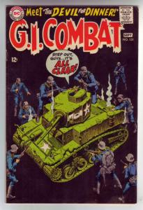 G.I. Combat #131 (Sep-68) FN/VF+ Mid-High-Grade The Haunted Tank