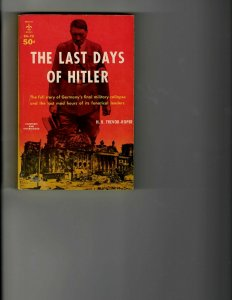 3 Books The Last Days of Hitler Hammerin' Hank of the Braves The Old Man JK10