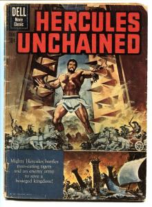 Hercules Unchained-Four Color Comics #1121-1960-Dell-Steve Reeves-g+
