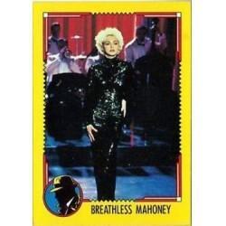 1990 Topps DICK TRACY-BREATHLESS MAHONEY #4