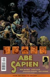 Abe Sapien: Dark and Terrible #21 VF; Dark Horse | save on shipping - details in
