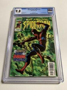 Amazing Spider-man V Vol Volume 2 # 3 Cgc 9.8 White Pages Marvel Legacy #444