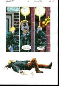 Original D.C. Color Guide Shadow Of The Bat #35 Pg 23