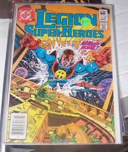 LEGION OF SUPER HEROES # 285 DC MAR  1982   COLOSSAL BOY MON EL