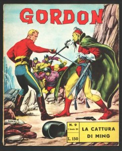 Gordon #310 1964-Flash Gordon by Alex Raymond in color-Flash vs Ming-VG?FN