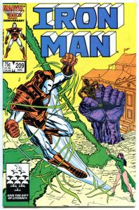 IRON MAN #209 210 211 212 213, VF+, Tony Stark, 1968, more in store, 5 issues