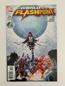 Flashpoint: The World of Flashpoint #3 in Near Mint + condition. DC comics