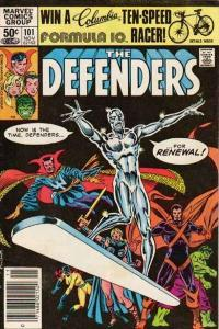 Defenders (1972 series) #101, VF+ (Stock photo)
