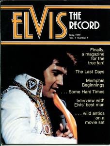 Elvis The Record #1 5/1979 1st issue-Elvis fanzine-candid pix-VG/FN