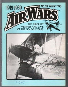 Air Wars #24  Winter 1990-Aircraft & air warfare of the middle years 1919-1939-G