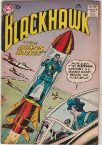 Blackhawk #123 (Apr-58) VF+ High-Grade Black Hawk, Chop Chop, Olaf, Pierre,Ch...