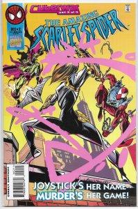 Amazing Scarlet Spider   vol. 1   #2 VF (Cyberwar 2)