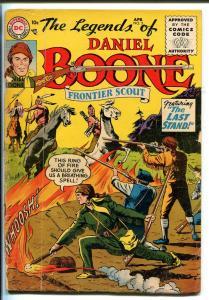 LEGENDS OF DANIEL BOONE #5 1956-DC-FRONTIER SCOUT-RARE-vg