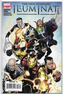 New Avengers: Illuminati (2007) #3 of 5 FN Bendis/Cheung, Iron Man, Namor