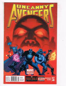 Uncanny Avengers #7 FN/VF Marvel Comics Comic Book Jun 2013 DE45