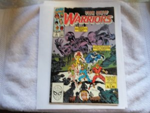 1990 MARVEL COMIC THE NEW WARRIORS # 2