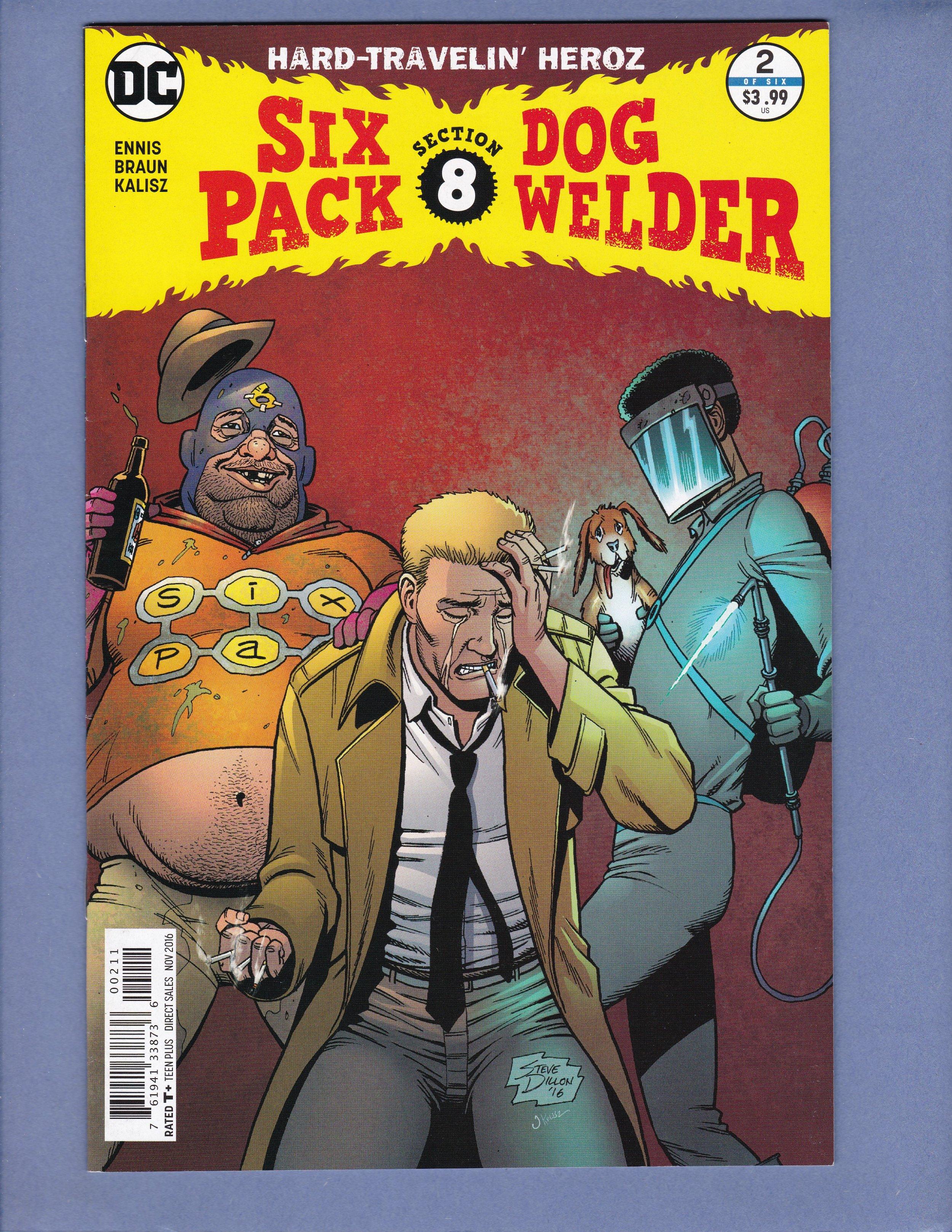 Six Pack /& Dog Welder #5 2016 DC Comics