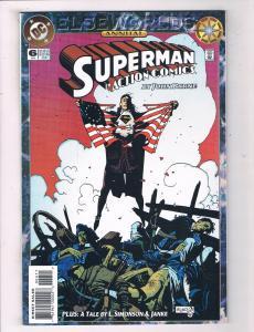 Action Comics Annual #6 VF/NM DC Elseworlds Comic Book Superman JLA 1994 DE44
