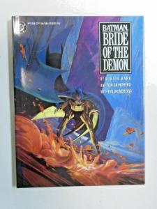 Batman Bride of the Demon #1 Hardcover 1st Print 6.0 FN (1990)