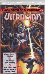 Ultraman (Ultracomics) #1C (with card) FN; Ultracomics   we combine shipping
