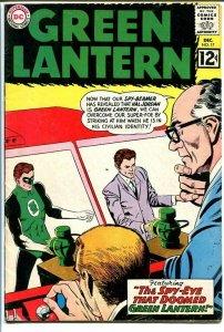 GREEN LANTERN #17 1962-SPY PLANES-12 cent-HAL JORDAN VG/FN